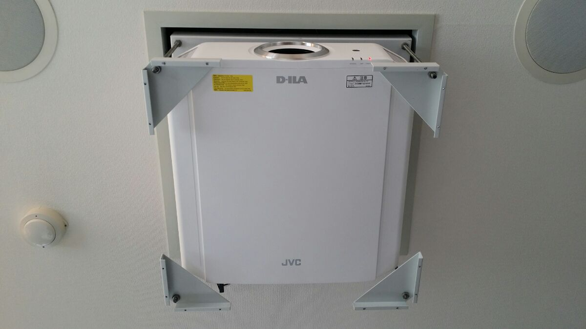 DLA-X570 設置画像8
