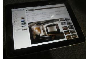 iPad in ホームシアター工房