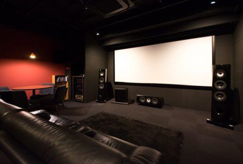 ホームシアターインストーラーの仕事241~140インチスクリーンが迫力のショールーム!!