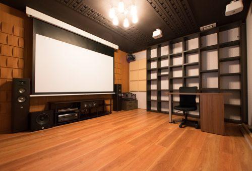 ホームシアターインストーラーの仕事246~書斎のリフォームを機会にホームシアター導入