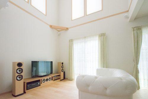 ホームシアターインストーラーの仕事263~新築リビングに5.1.2chテレビシアター