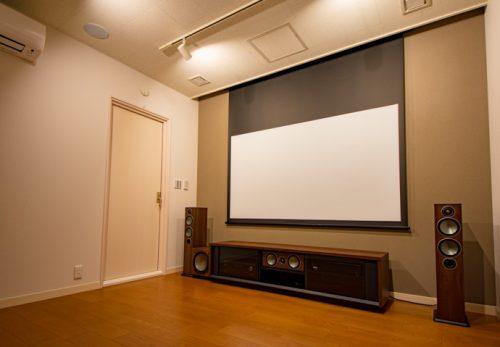 ホームシアターインストーラーの仕事264~シンプルな専用ルームシアター