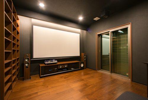 ホームシアターインストーラーの仕事267~約7畳の書斎兼ホームシアタールーム
