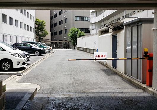 ※駐車場もございます。ゲートをお開けしますのでお声掛けください。