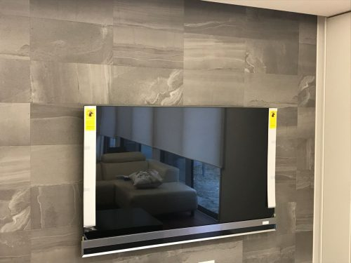 テレビの壁掛け設置もお任せください!